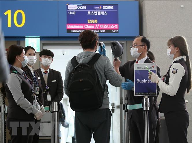 Chính sách cách ly y tế đối với tất cả người nhập cảnh từ nước ngoài ngay sau khi vào Hàn Quốc
